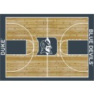 "Duke Blue Devils 7' 8"" x 10' 9"" Home Court Area Rug by"