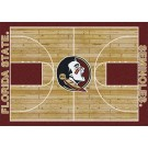 """Florida State Seminoles 7' 8"""" x 10' 9"""" Home Court Area Rug by"""