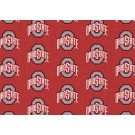 "Ohio State Buckeyes 7' 8"" x 10' 9"" Team Repeat Area Rug by"