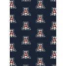 "Arizona Wildcats 7' 8"" x 10' 9"" Team Repeat Area Rug by"