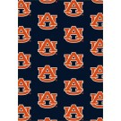 """Auburn Tigers 7' 8"""" x 10' 9"""" Team Repeat Area Rug by"""