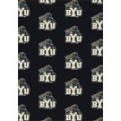 "Brigham Young (BYU) Cougars 7' 8"" x 10' 9"" Team Repeat Area Rug by"