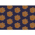 "Clemson Tigers 3' 10"" x 5' 4"" Team Repeat Area Rug"