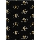 "Colorado Buffaloes 7' 8"" x 10' 9"" Team Repeat Area Rug by"