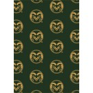 """Colorado State Rams 7' 8"""" x 10' 9"""" Team Repeat Area Rug by"""