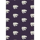 """Kansas State Wildcats 7' 8"""" x 10' 9"""" Team Repeat Area Rug by"""