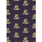 "Louisiana State (LSU) Tigers 7' 8"" x 10' 9"" Team Repeat Area Rug by"