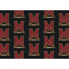 "Maryland Terrapins 7' 8"" x 10' 9"" Team Repeat Area Rug by"