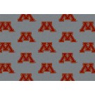 """Minnesota Golden Gophers 7' 8"""" x 10' 9"""" Team Repeat Area Rug by"""