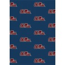 "Mississippi (Ole Miss) Rebels 7' 8"" x 10' 9"" Team Repeat Area Rug by"