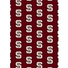 "North Carolina State Wolfpack 7' 8"" x 10' 9"" Team Repeat Area Rug by"