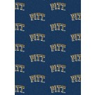 """Pittsburgh Panthers 7' 8"""" x 10' 9"""" Team Repeat Area Rug by"""
