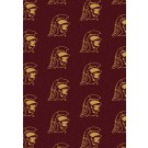 """USC Trojans 7' 8"""" x 10' 9"""" Team Repeat Area Rug by"""