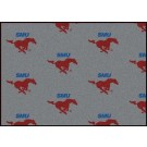 "Southern Methodist (SMU) Mustangs 7' 8"" x 10' 9"" Team Repeat Area Rug"