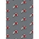 "Utah Utes 7' 8"" x 10' 9"" Team Repeat Area Rug by"