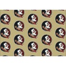 """Florida State Seminoles 7' 8"""" x 10' 9"""" Team Repeat Area Rug by"""