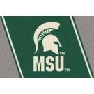 """Michigan State Spartans """"MSU"""" 5' x 8' Team Door Mat by"""