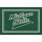Michigan State Spartans 5' x 8' Team Door Mat by