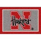 """Nebraska Cornhuskers 22"""" x 33"""" Team Spirit Door Mat"""
