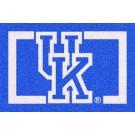 Kentucky Wildcats (Horizontal) 5' x 8' Team Door Mat by