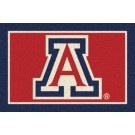 Arizona Wildcats 5' x 8' Team Door Mat by