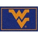 West Virginia Mountaineers 5' x 8' Team Door Mat by