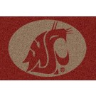 Washington State Cougars 5' x 8' Team Door Mat by