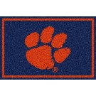 "Clemson Tigers (Horizontal) 22"" x 33"" Team Door Mat"