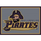 East Carolina Pirates 5' x 8' Team Door Mat by