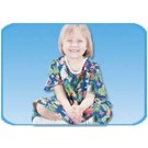Jungle Print Youth Cloth Gown