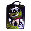 """Butterfly """"Victory"""" 2-Player Table Tennis Racket and Ball Set"""