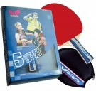 Butterfly 501 Flared Shakehand Table Tennis Paddle by