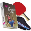 Butterfly 603 Flared Shakehand Table Tennis Paddle by