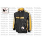 Pittsburgh Steelers Shotgun Track Jacket from Mitchell and Ness