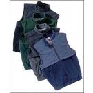 Men's Polar/Microfiber Vest from Mitex (Black/Black XX-Large)