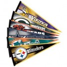 "National Football League Team Pennants... 12"" x 30"" - Set of 32 NFL Teams"