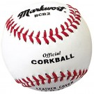 "6 1/2"" Official White Corkballs from Markwort - (One Dozen)"