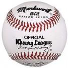 """9"""" Bantam and Midget Khoury League Baseballs from Markwort - (One Dozen)"""