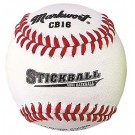 White Leather Cover Stick Balls Teampack from Markwort - (One Dozen)