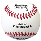 "6 1/2"" White Khoury League Corkballs from Markwort - (One Dozen)"