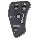4-Dial Plastic Umpire Indicators from Markwort - Set of 6
