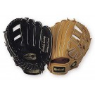 "12"" Tan Double Notched Double-T Web Infield / Outfield Baseball Glove from Markwort - (Worn on Left Hand)"