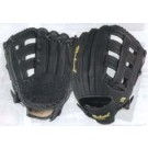 "12 3/4"" Double-T Web Baseball Glove from Markwort (Worn on Left Hand)"
