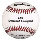 "9"" Official League Baseballs from Markwort - (One Dozen)"