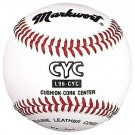 "9"" Official CYC Catholic Youth Council Official Baseballs from Markwort - (One Dozen)"