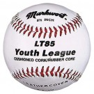 "8 1/2"" Leather Cover Junior Size Youth League Baseballs from Markwort - (One Dozen)"
