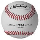"""9"""" Leather Cover Baseballs from Markwort - (One Dozen)"""