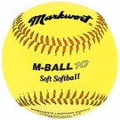 """10"""" Soft & Light Softballs from Markwort - 1 Dozen"""