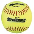 Soft Safe Stickball Style Mini-Baseballs - 1 Dozen