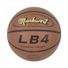 Women's/Youth Synthetic Leather Basketball with Wide Channels from Markwort by